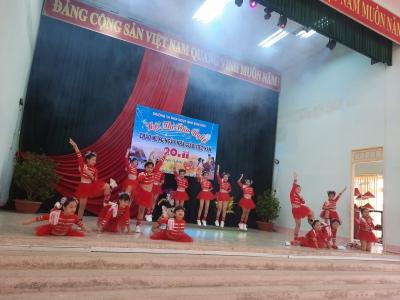 Hội thi văn nghệ chào mừng ngày nhà giáo Việt Nam 20-11
