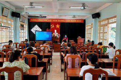 Tập huấn CNTT và phương pháp dạy học tích hợp